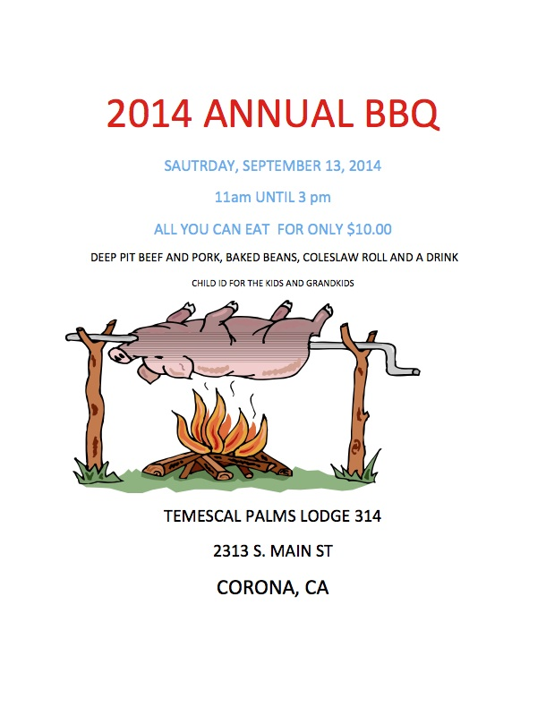 Temescal Palms Annual BBQ