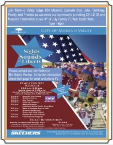 July 4, 2015 Moreno Valley Flier