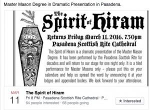 Spirt of Hiram 3:11:16