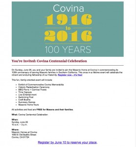 Covina Homes Pinic June 26, 2016