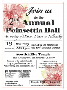 2nd Annual Poinsettia Ball