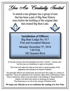 Big Bear Installation 2016