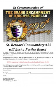 Grand Encampment 200th Anniversary